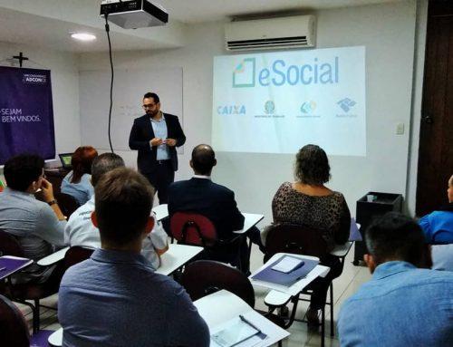 ADCONCE promove palestra com temas sobre e-Social e sustentabilidade para condomínios