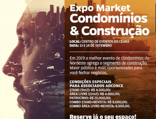 Expomarket acontece nos dias 13 e 14 de setembro em Fortaleza